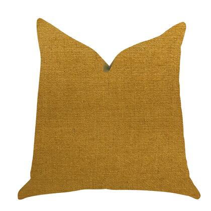 Marigold Collection PBRA1398-2626-DP Double sided  26 x 26 Plutus Wild Turmeric Luxury Throw Pillow in