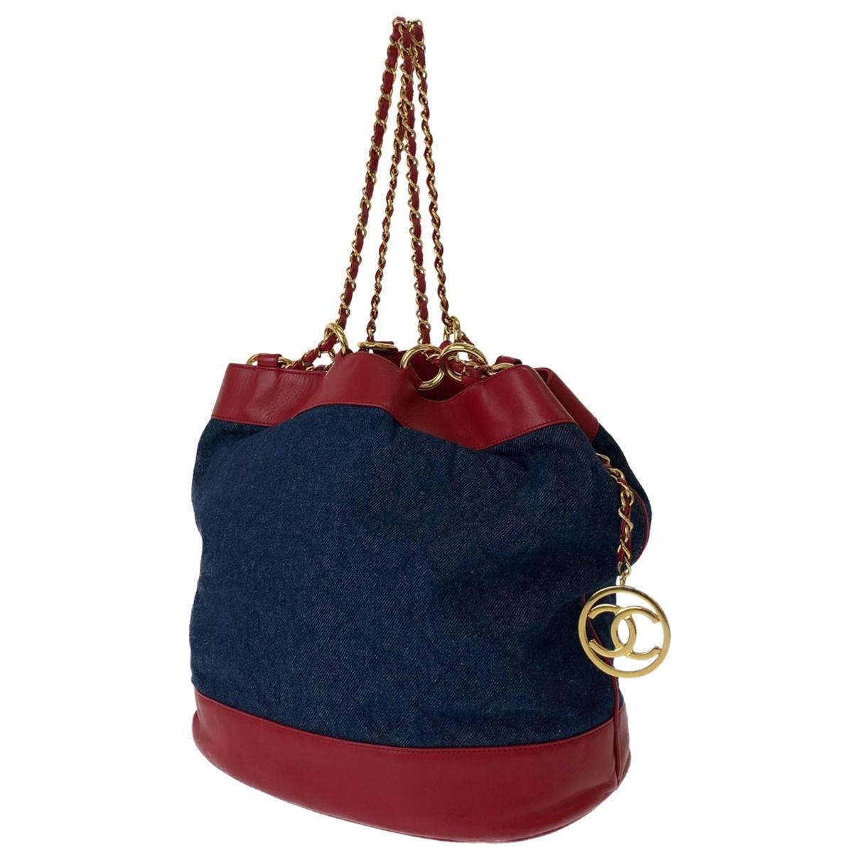 Chanel \N Handtasche in Denim - Jeans