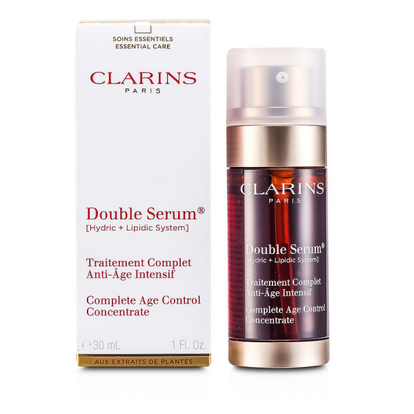 Double Serum - Une concentration inegalee dactifs anti-age - Clarins Tratamiento 30 ML