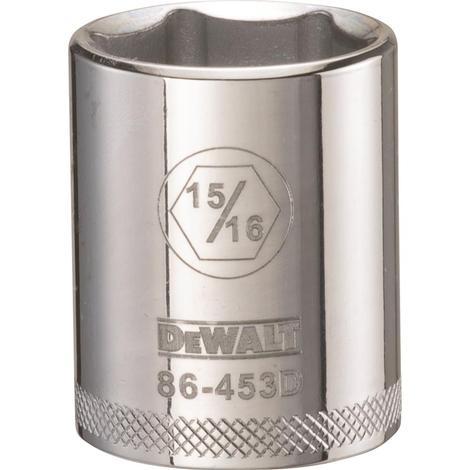 DeWalt 6 Point 1/2# Drive Socket 15/16#