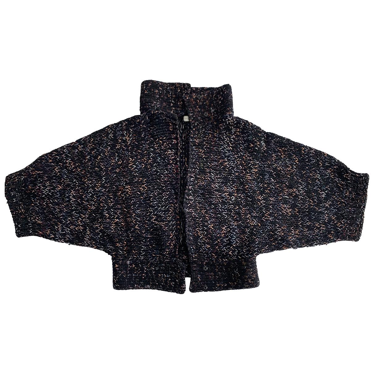 Dries Van Noten - Pull   pour femme en laine - noir