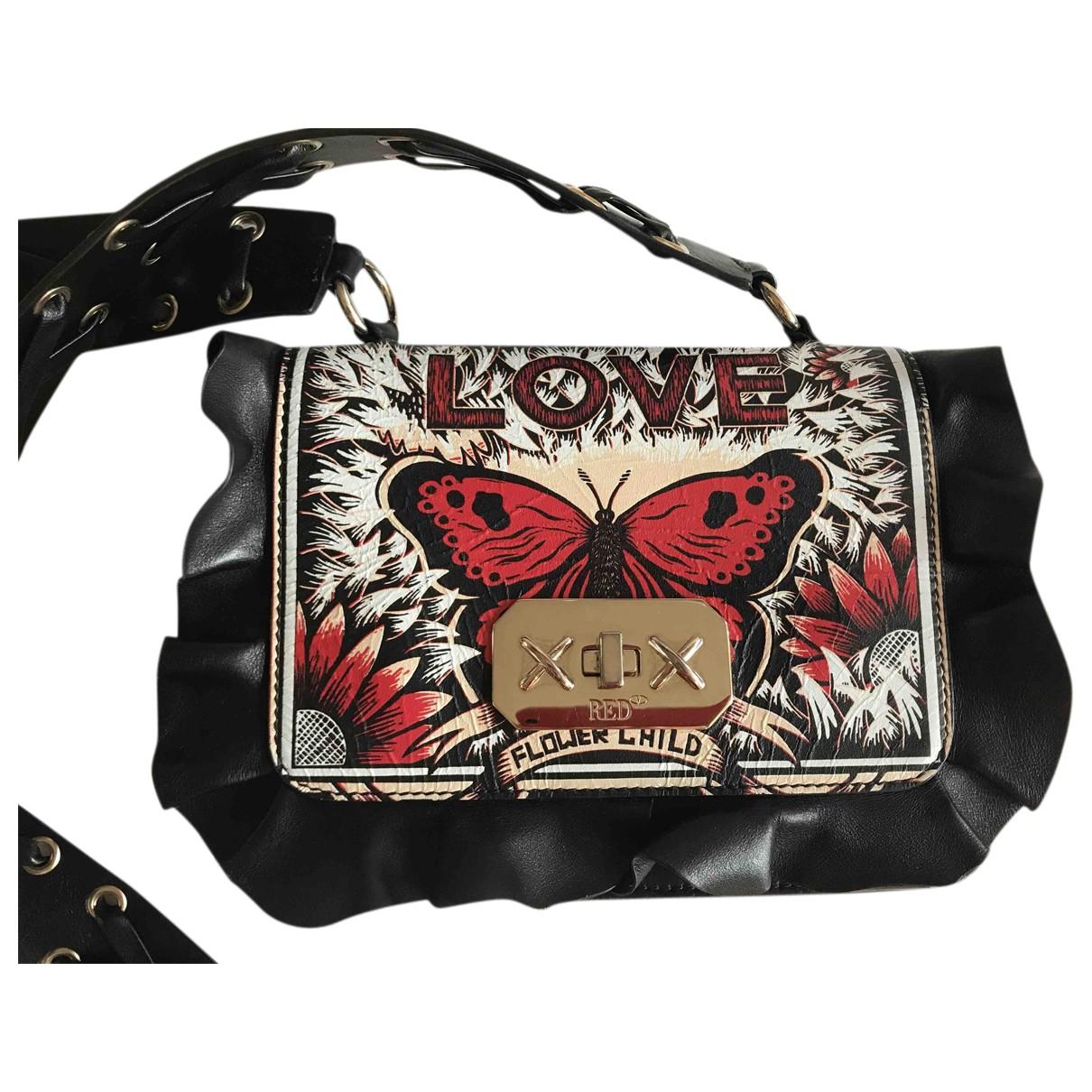Red Valentino Garavani N Black Leather handbag for Women N