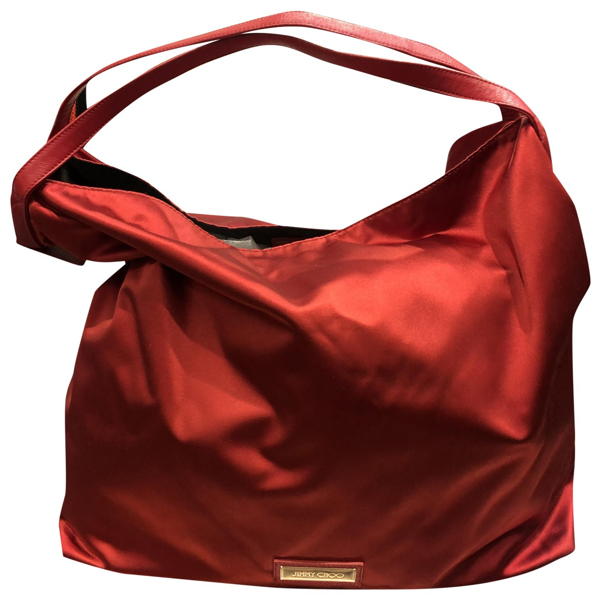 Jimmy Choo \N Red Cloth handbag for Women \N