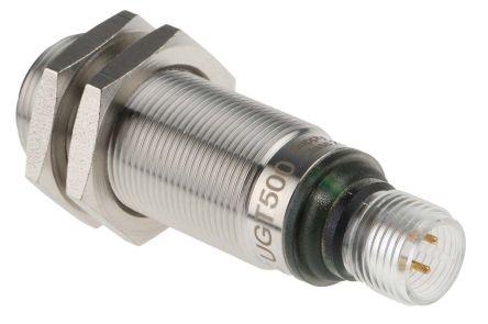 ifm electronic Ultrasonic Sensor Barrel M18 x 1, 40 → 300 mm, PNP NO/NC, M12 - 4 Pin IP67
