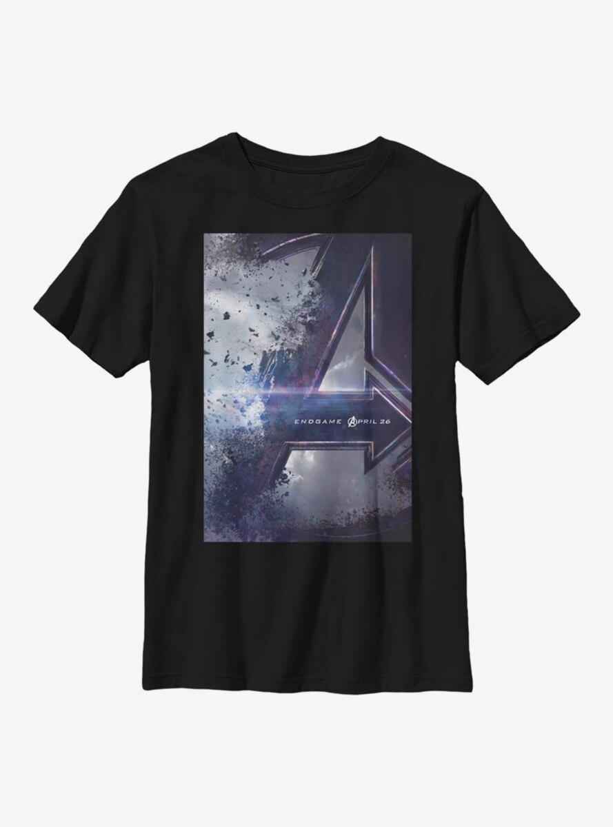 Marvel Avengers Endgame Poster Youth T-Shirt
