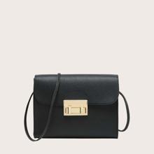 Girls Minimalist Flap Crossbody Bag