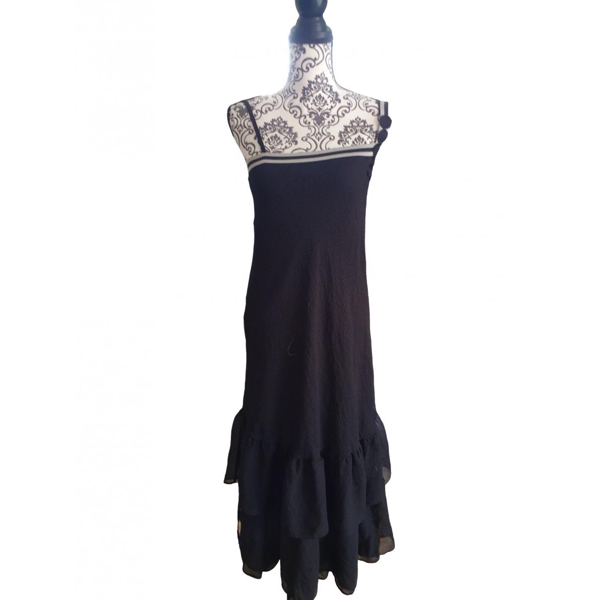 Cop Copine \N Kleid in  Schwarz Polyester