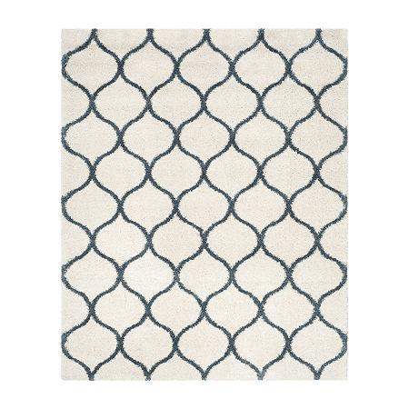 Safavieh Hudson Shag Collection Maria Geometric Area Rug, One Size , Multiple Colors