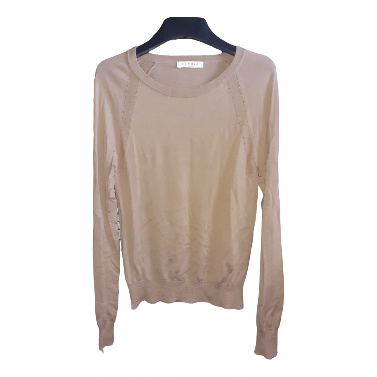 Sandro \N Beige Cotton Knitwear & Sweatshirts for Men XS International