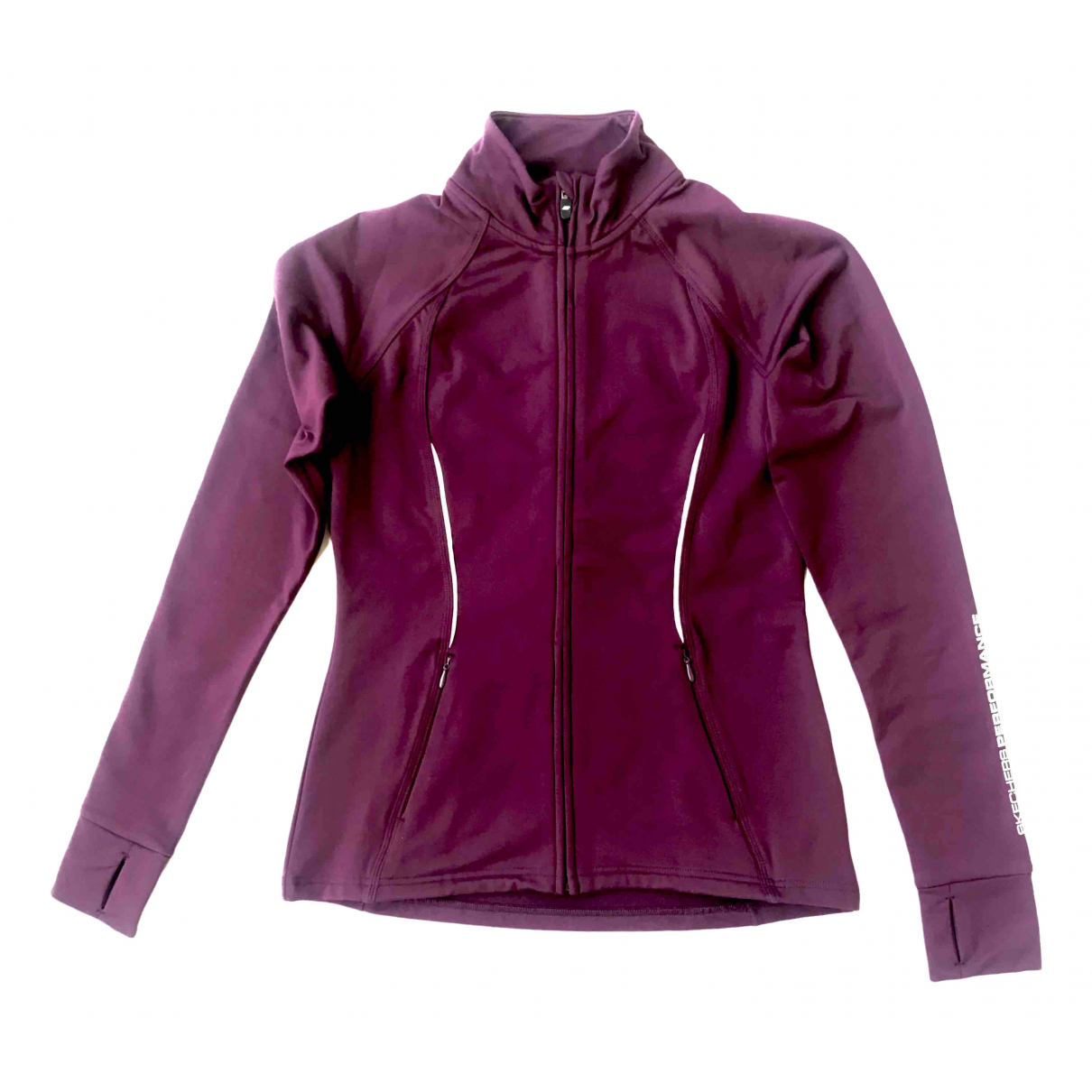 Skechers \N Jacke in  Bordeauxrot Polyester