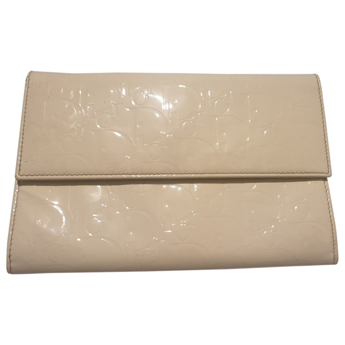 Dior \N White Patent leather wallet for Women \N