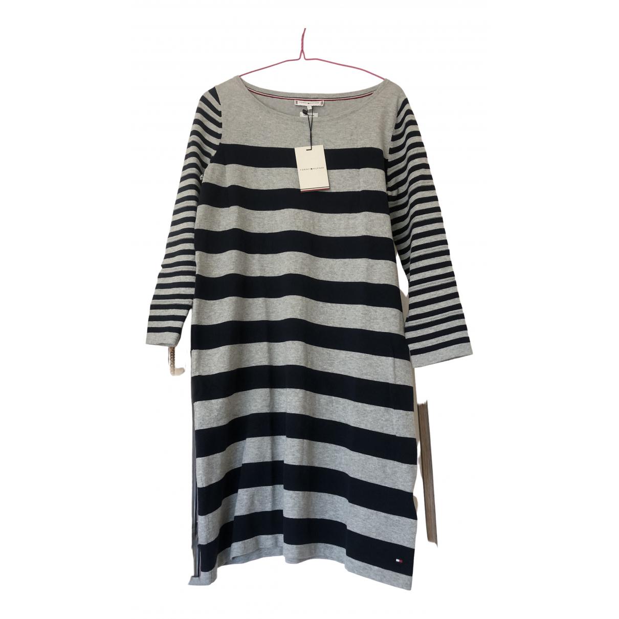 Tommy Hilfiger N Grey Cotton dress for Women S International