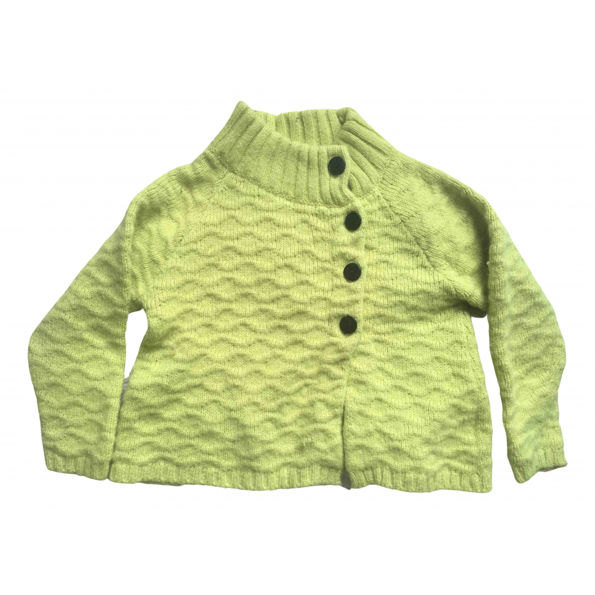 Aymara \N Yellow Wool Knitwear for Kids 4 years - up to 102cm FR