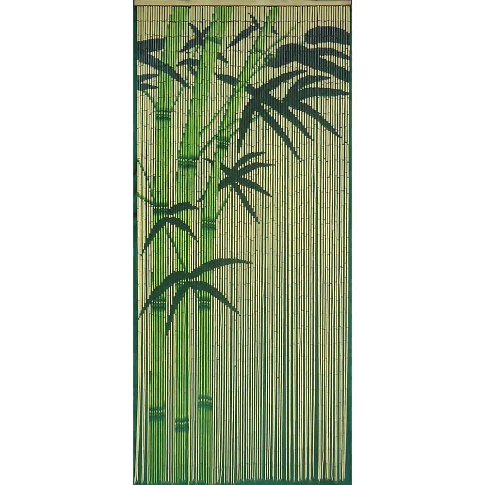 Handmade Green Rayon from Bamboo Curtain (Vietnam) (green)