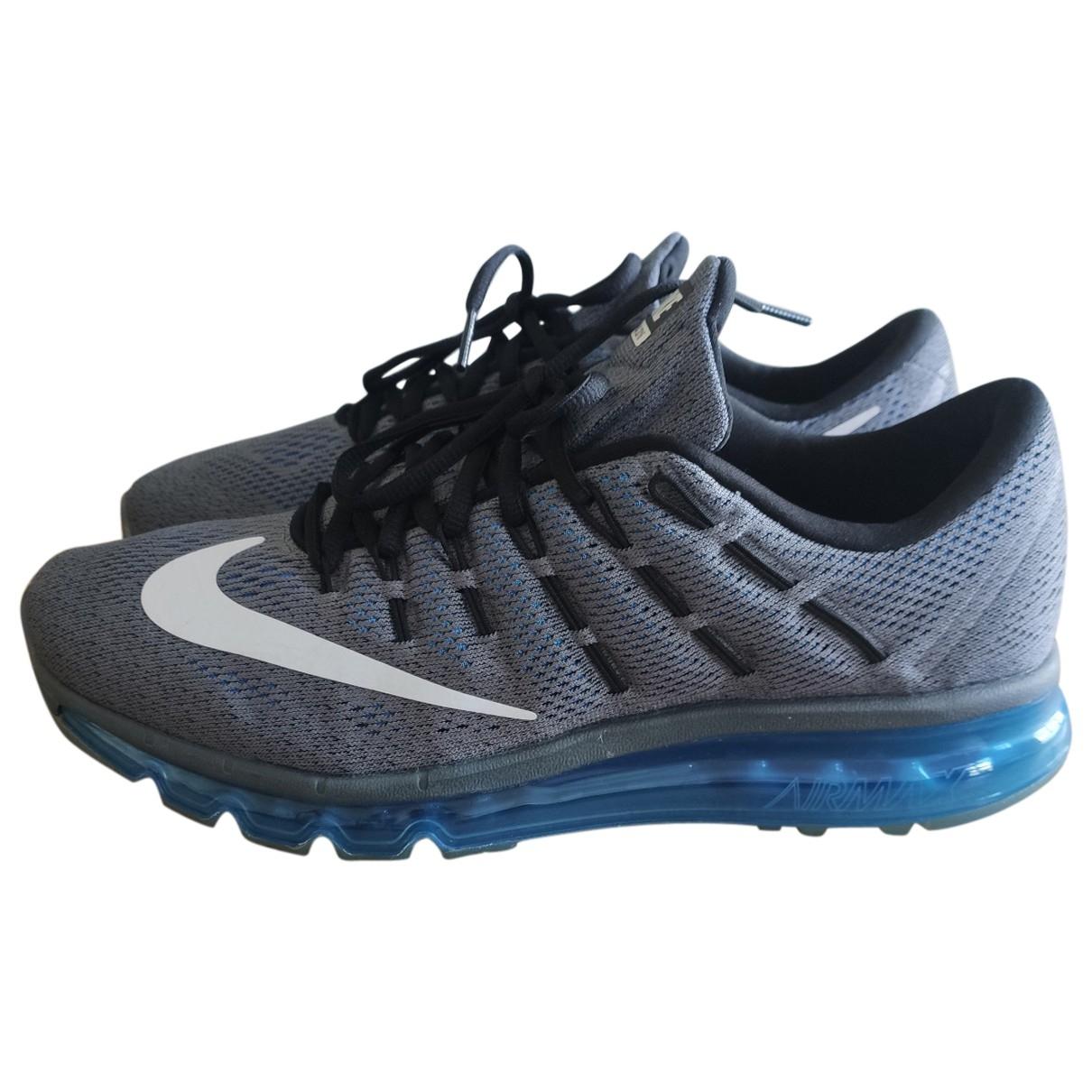 Nike Air Max  Grey Cloth Trainers for Men 45 EU