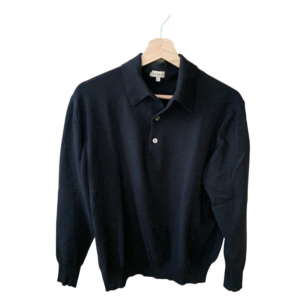 Lanvin N Black Cashmere Knitwear & Sweatshirts for Men L International