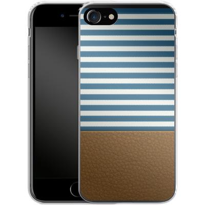 Apple iPhone 7 Silikon Handyhuelle - Nautical von caseable Designs
