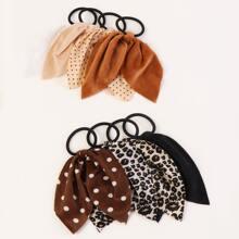 8pcs Bow Hair Tie