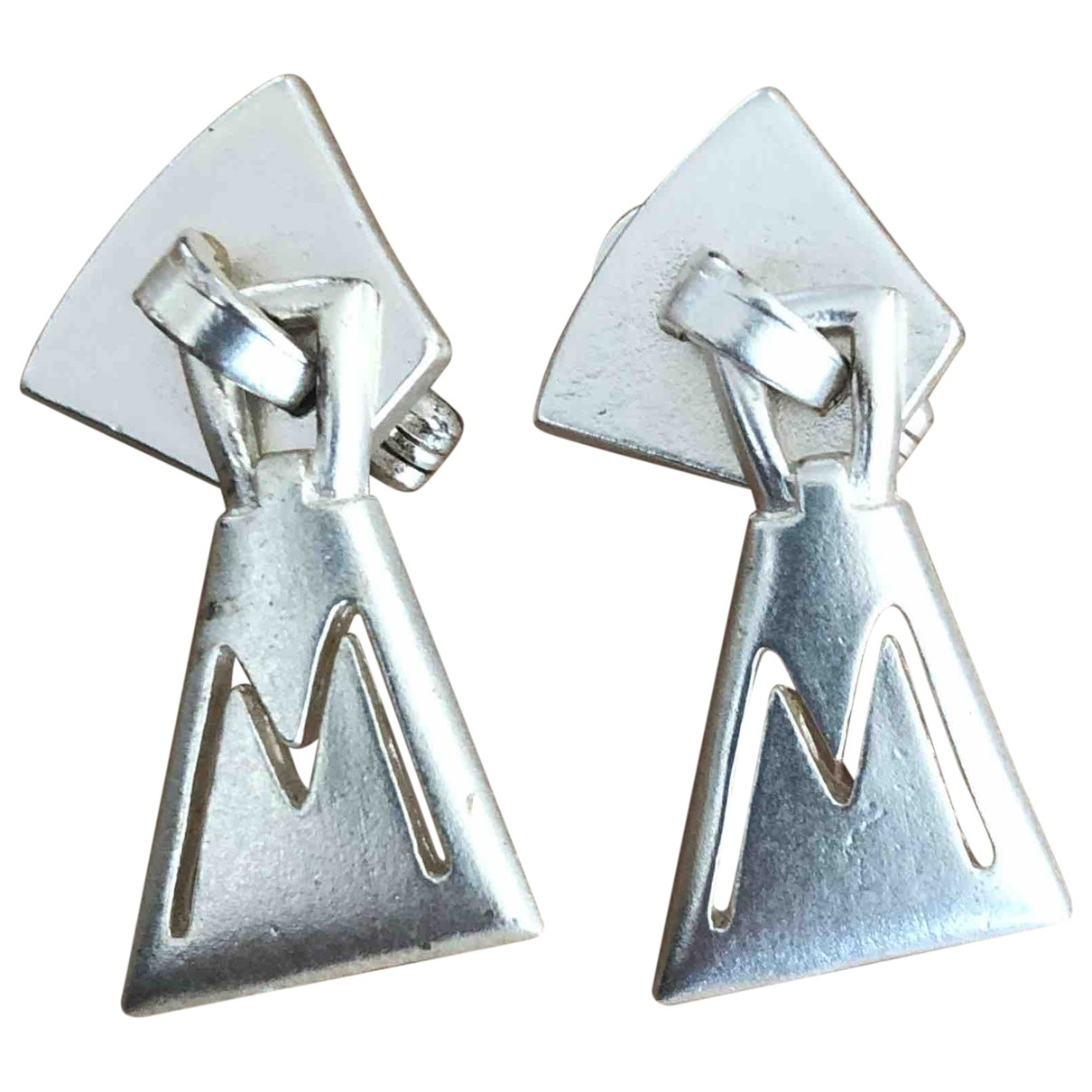Claude Montana \N OhrRing in  Silber Metall