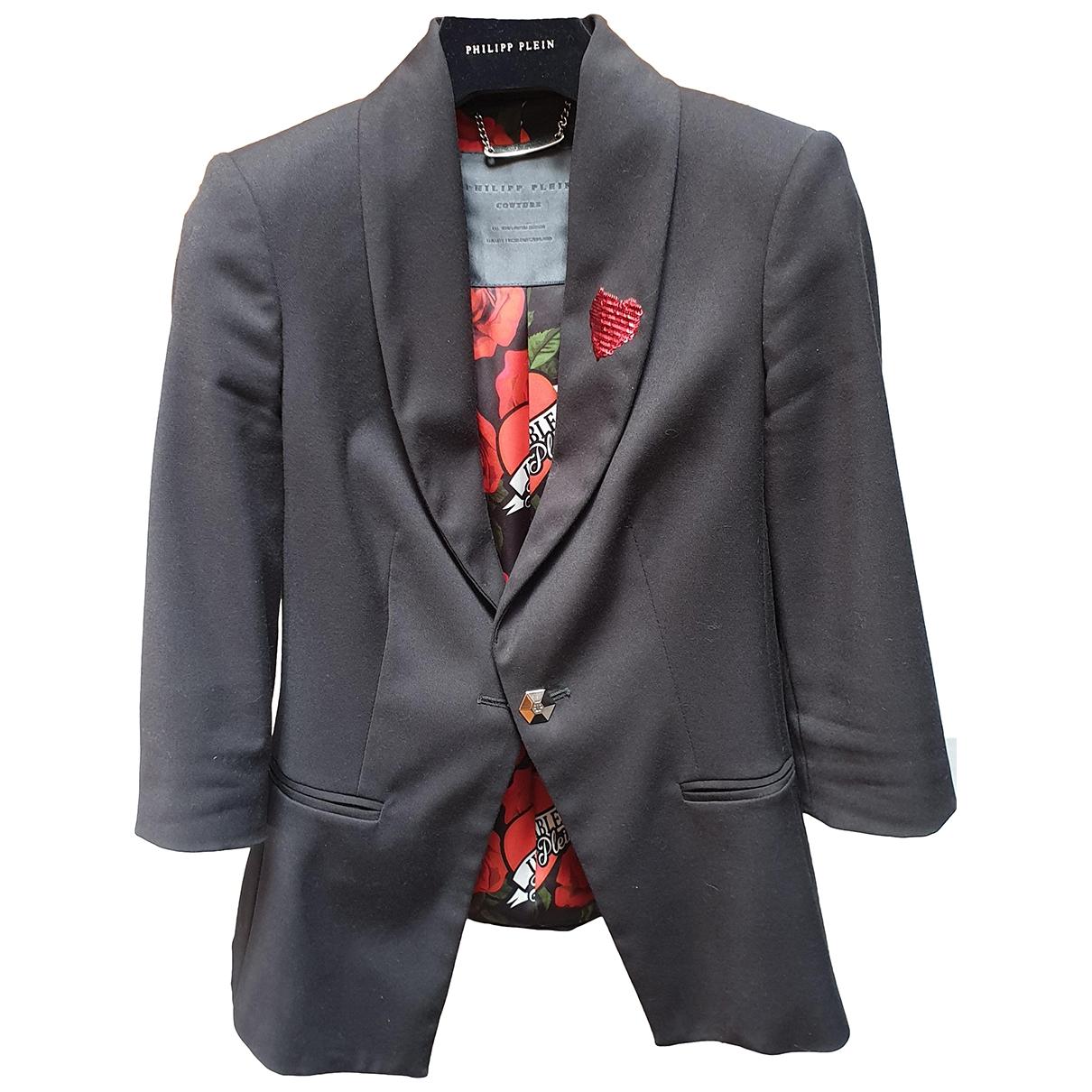 Philipp Plein \N Black jacket for Women S International