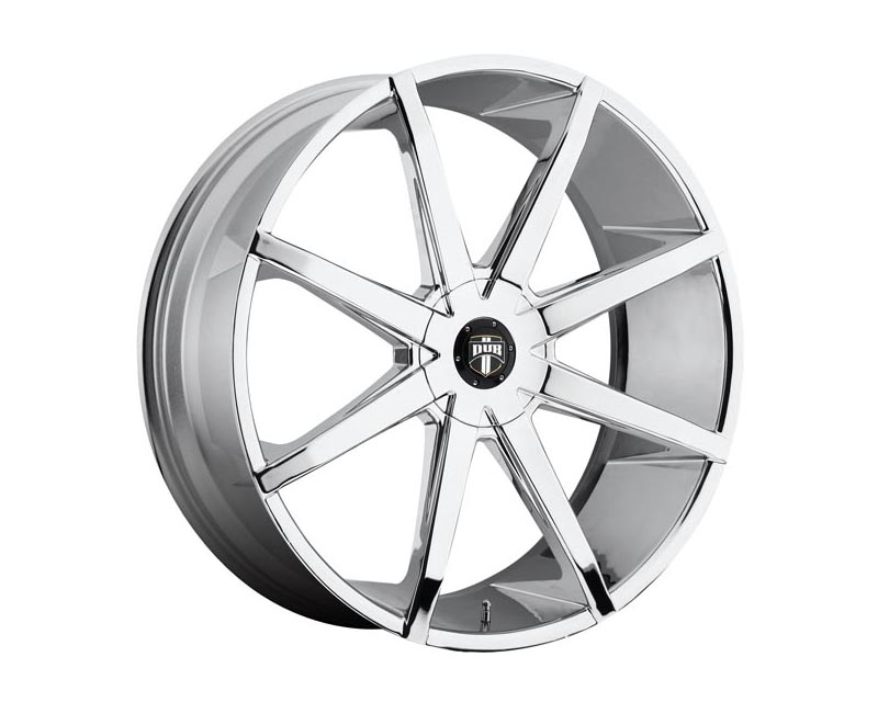 DUB S201 Push Wheel 19x8.5 BLANK 42mm Chrome Plated