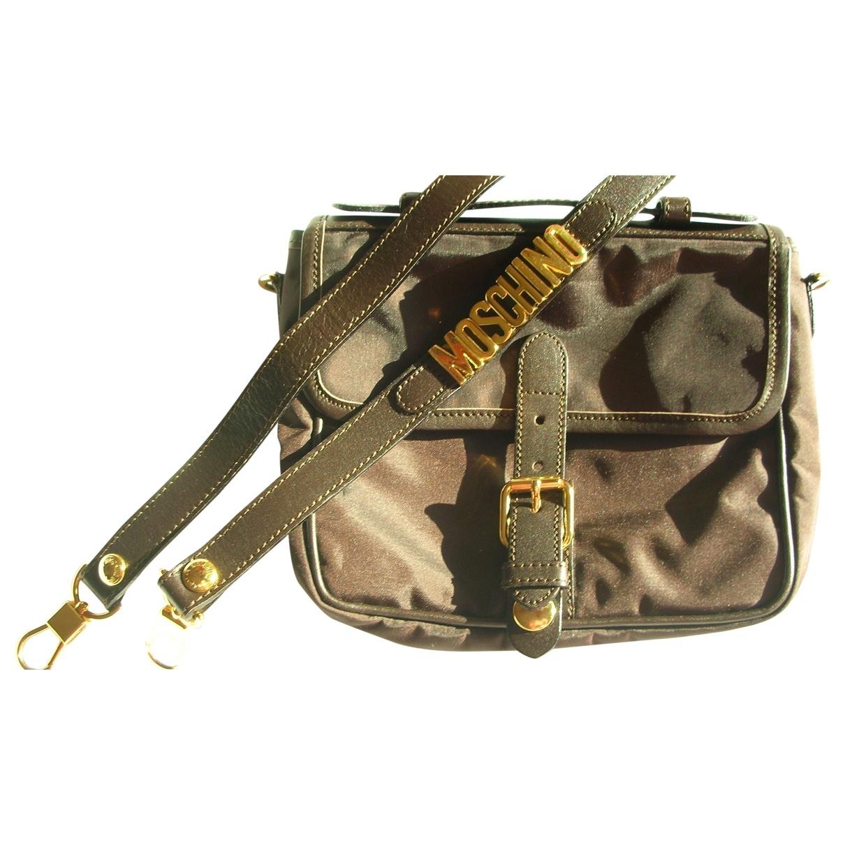 Moschino \N Handtasche in  Braun Synthetik