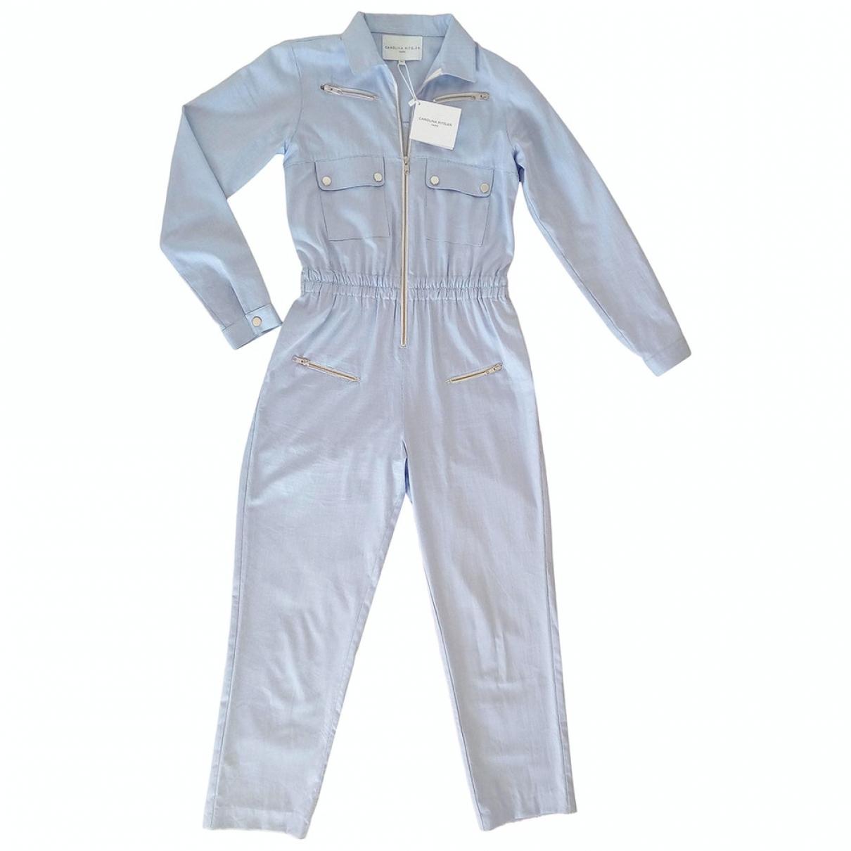 Carolina Ritzler - Combinaison   pour femme en coton - bleu