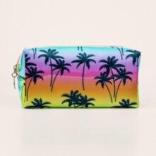 Tropical Pattern Makeup Bag