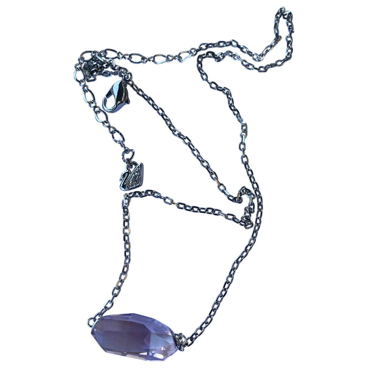 Swarovski \N Pink Metal necklace for Women \N
