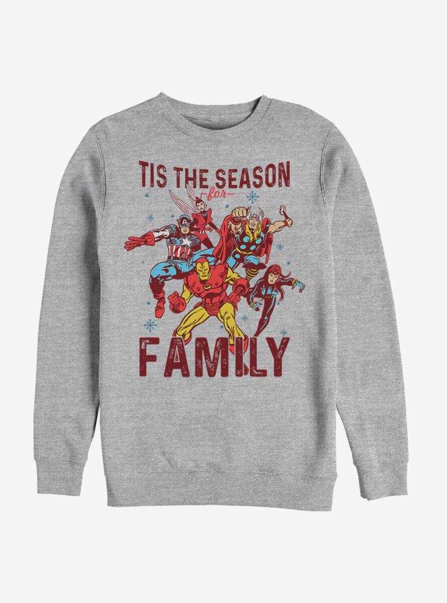 Marvel Avengers Family Season Sweatshirt