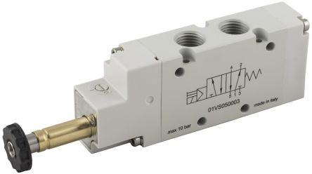 RS PRO 5/2 Bistable Pneumatic Control Valve Solenoid G 1/4