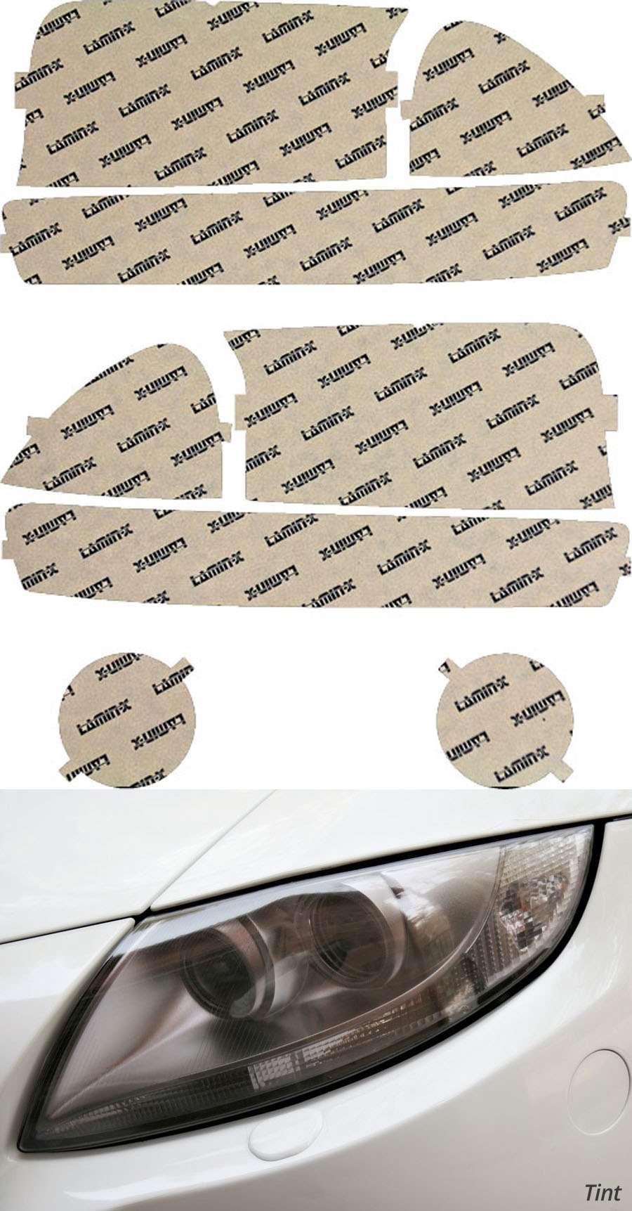 Dodge Dakota 00-04 Tint Headlight and Turn Signal Kit Lamin-X D004T