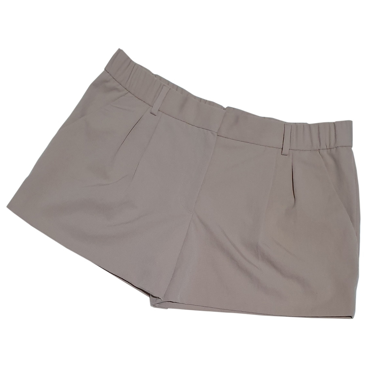 Viktor & Rolf \N Beige Shorts for Women 38 FR
