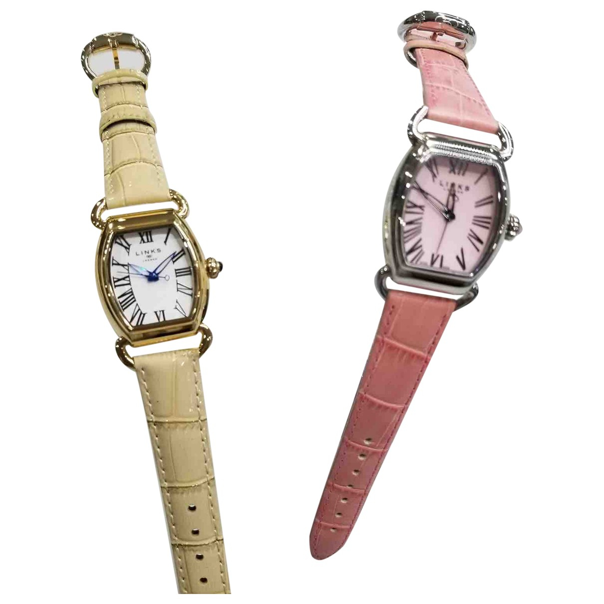 Links Of London - Montre   pour femme en acier - rose