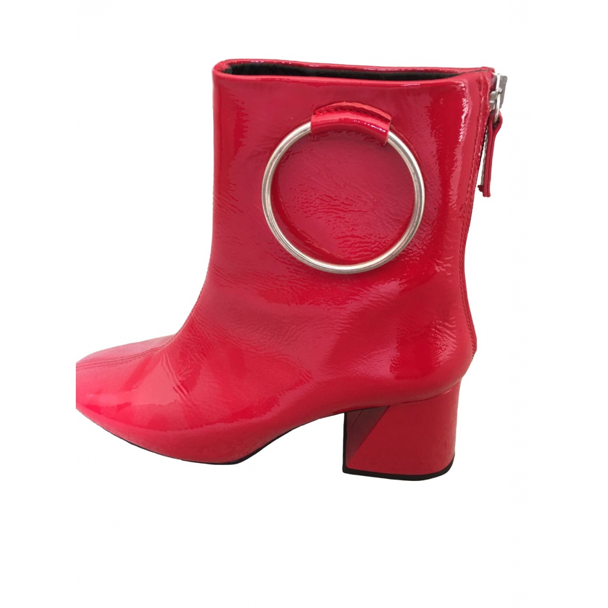 tophop \N Red Boots for Women 5 UK