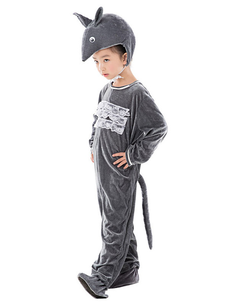 Milanoo Halloween Kid\'s Mouse Three Piece Outfit Cosplay Costume Halloween
