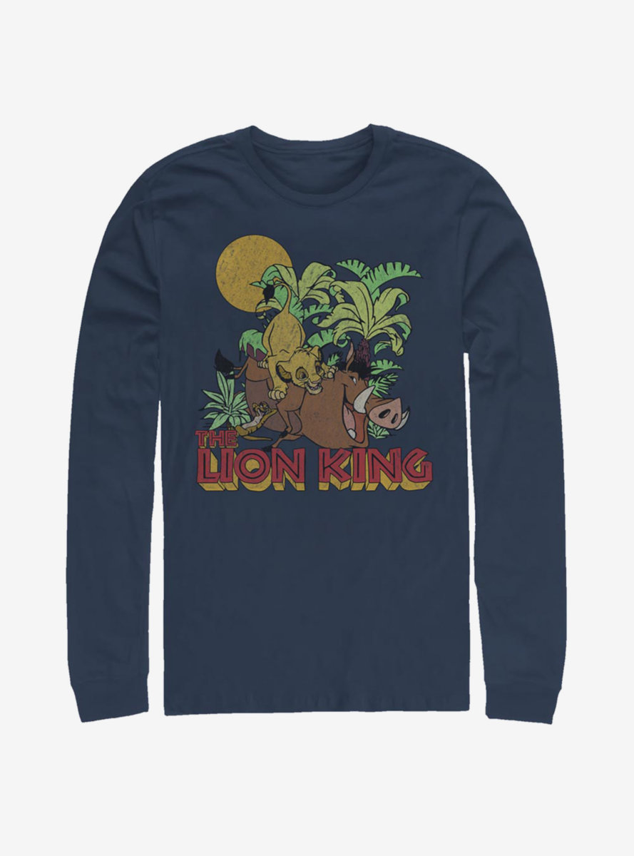 Disney The Lion King Jungle Play Long-Sleeve T-Shirt