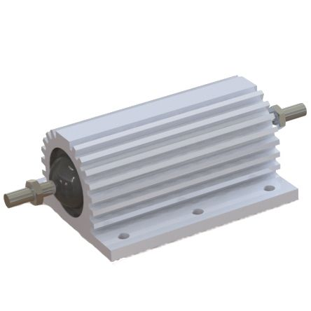 RS PRO Aluminium Housed Wire Wound Panel Mount Resistor, 1kΩ ±5% 200W