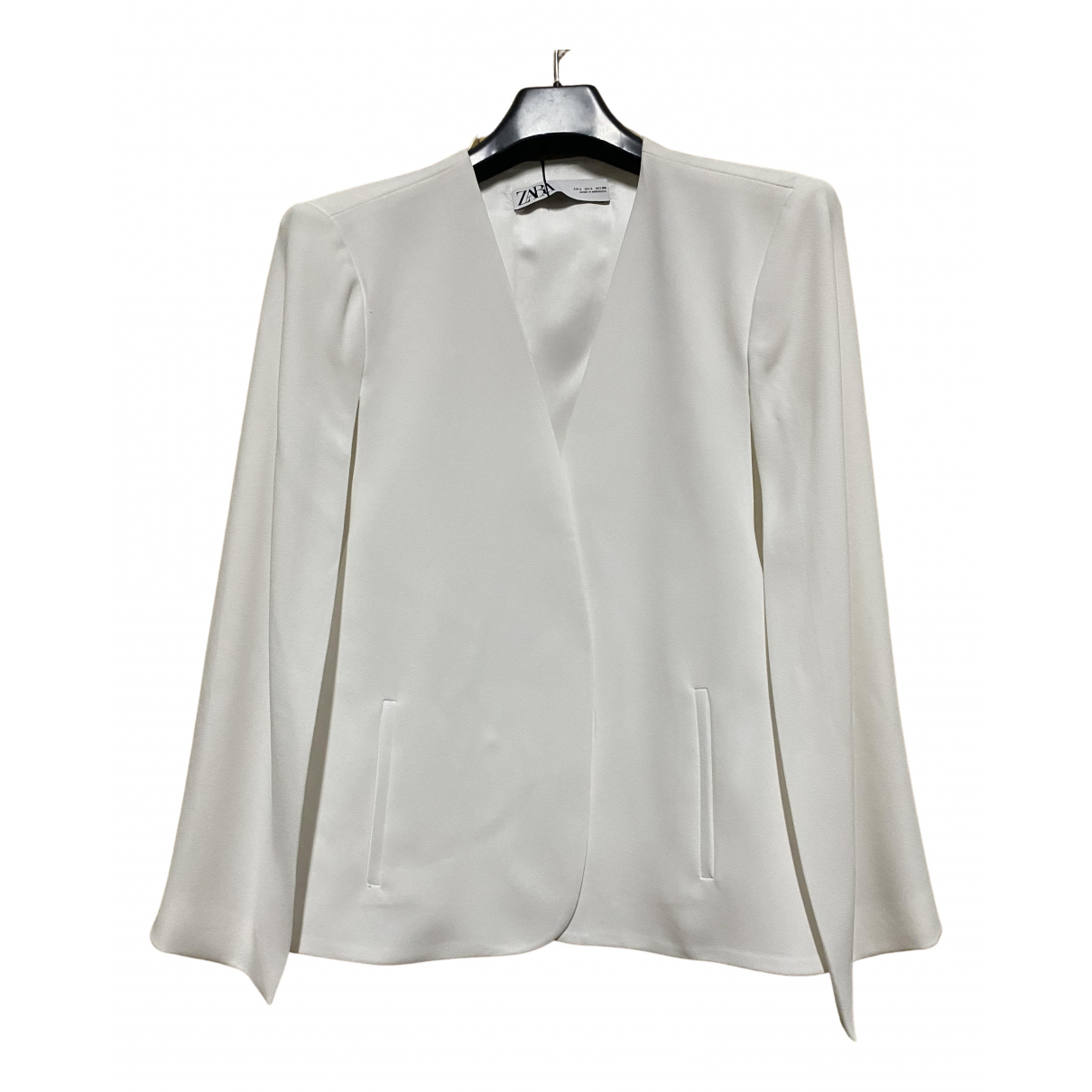 Zara N White jacket for Women L International