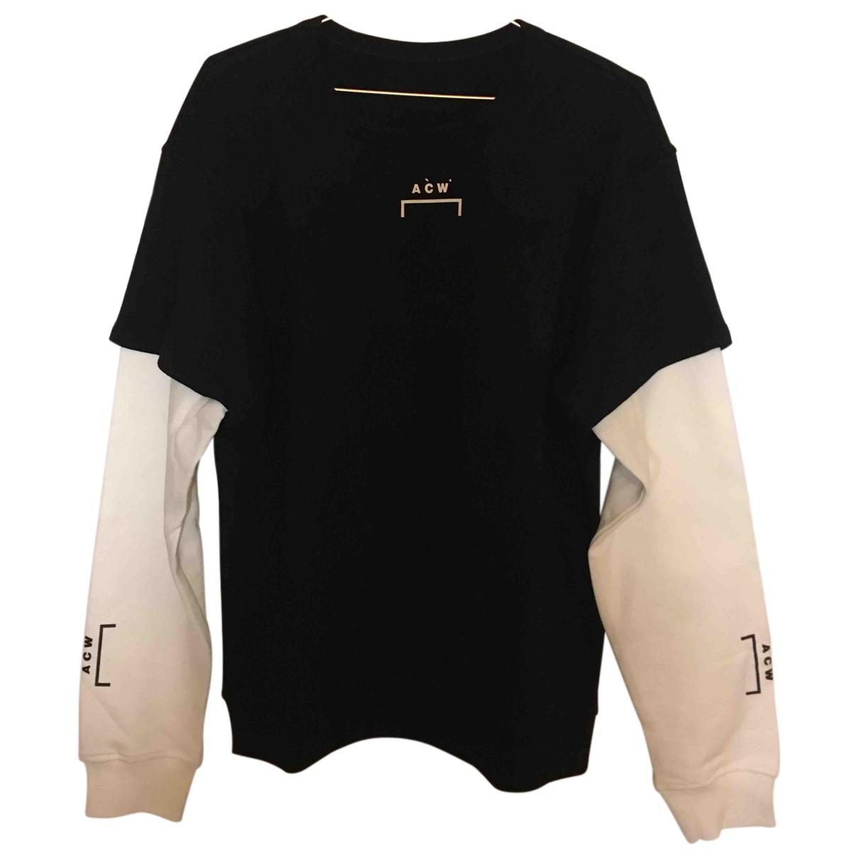 A-cold-wall \N Pullover.Westen.Sweatshirts  in  Schwarz Baumwolle