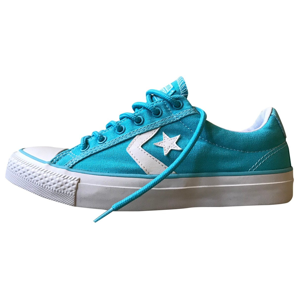Converse \N Turquoise Cloth Trainers for Women 37 EU