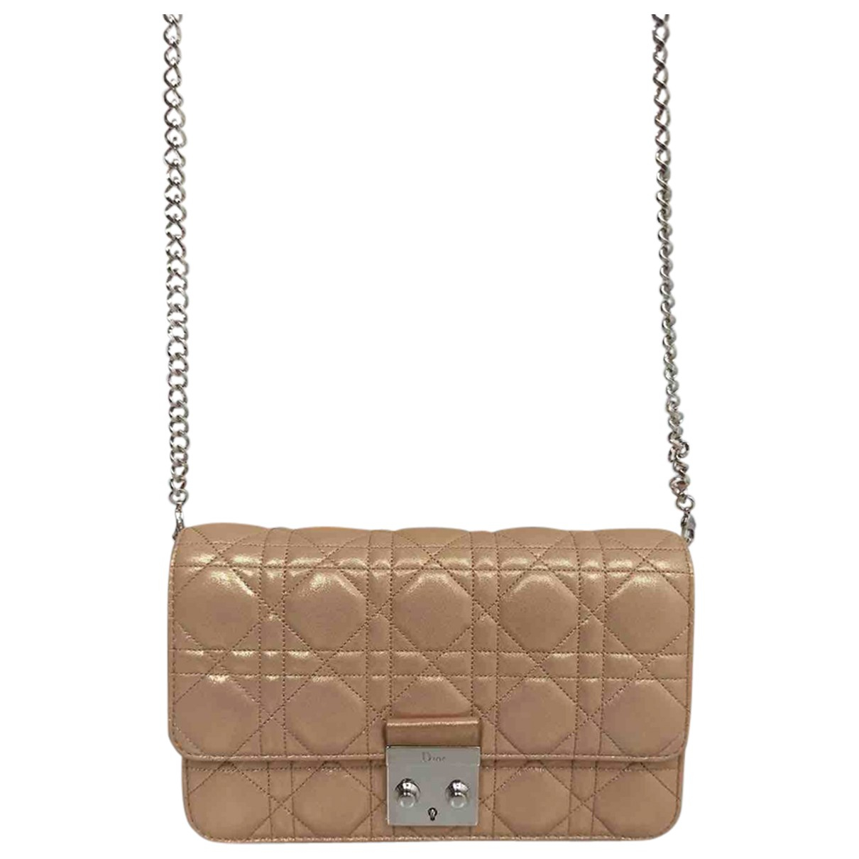 Dior Miss Dior Beige Cloth handbag for Women \N