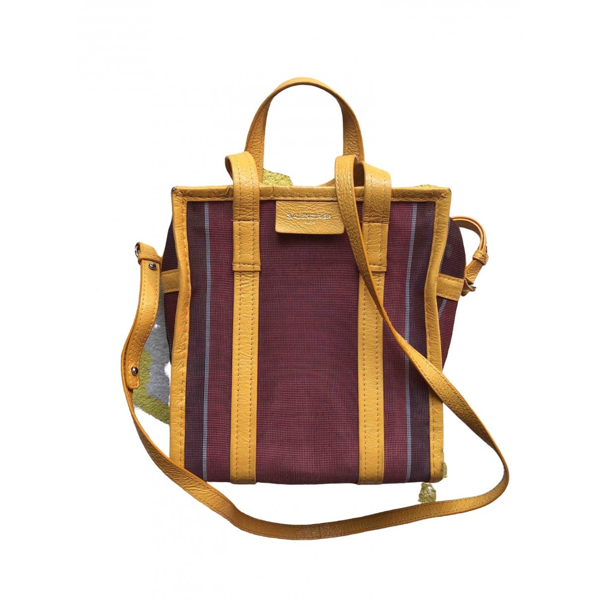 Balenciaga Bazar Bag Red Cloth handbag for Women \N