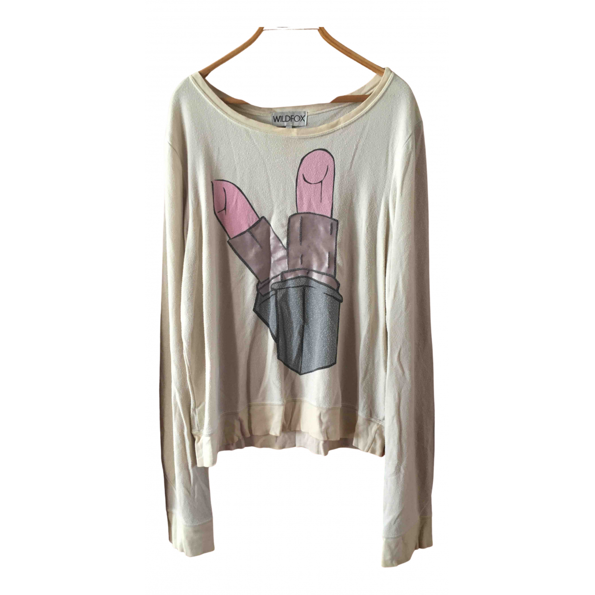 Wildfox N Beige  top for Women M International