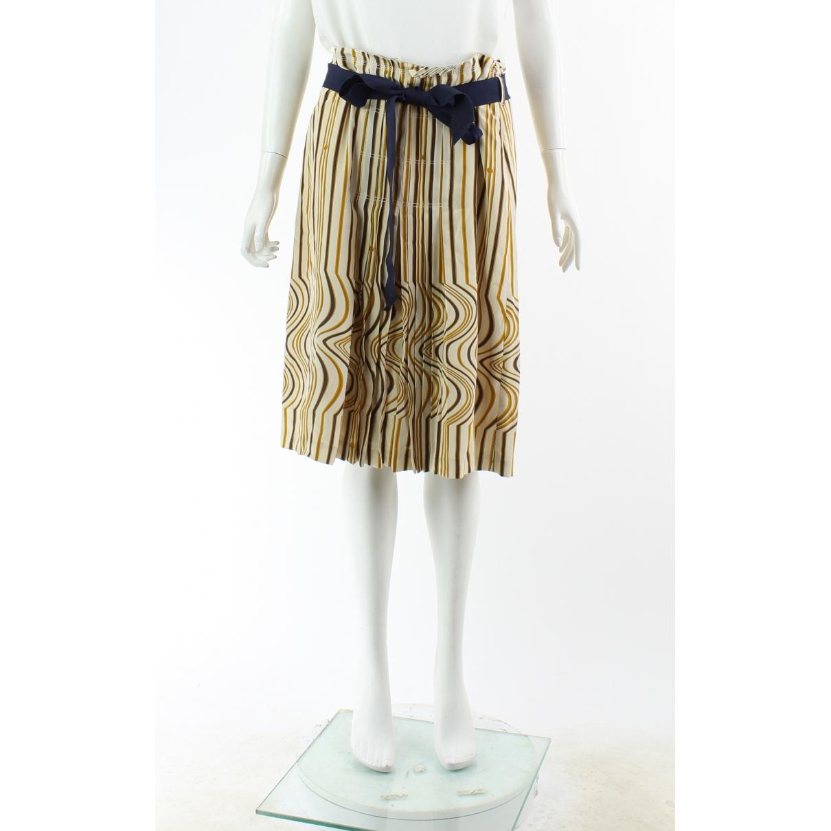 Tory Burch - Jupe   pour femme en soie - multicolore
