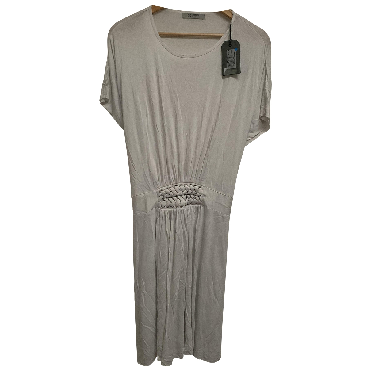 All Saints \N White Cotton dress for Women 10 UK