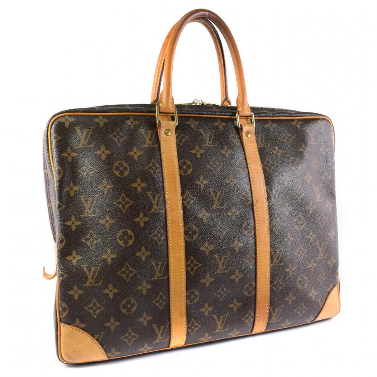 Louis Vuitton - Sac de voyage   pour femme en cuir