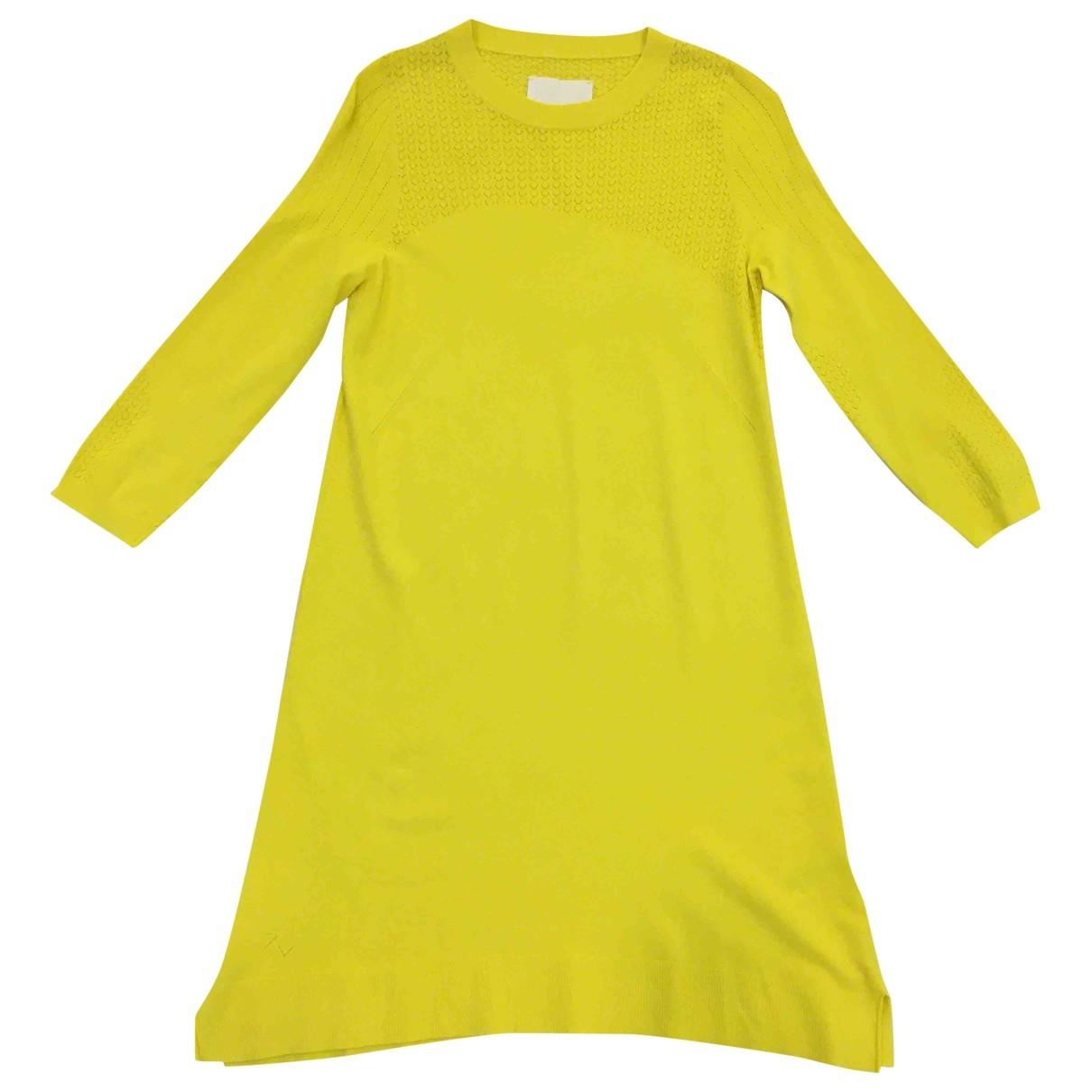 Zadig & Voltaire \N Kleid in  Gelb Viskose