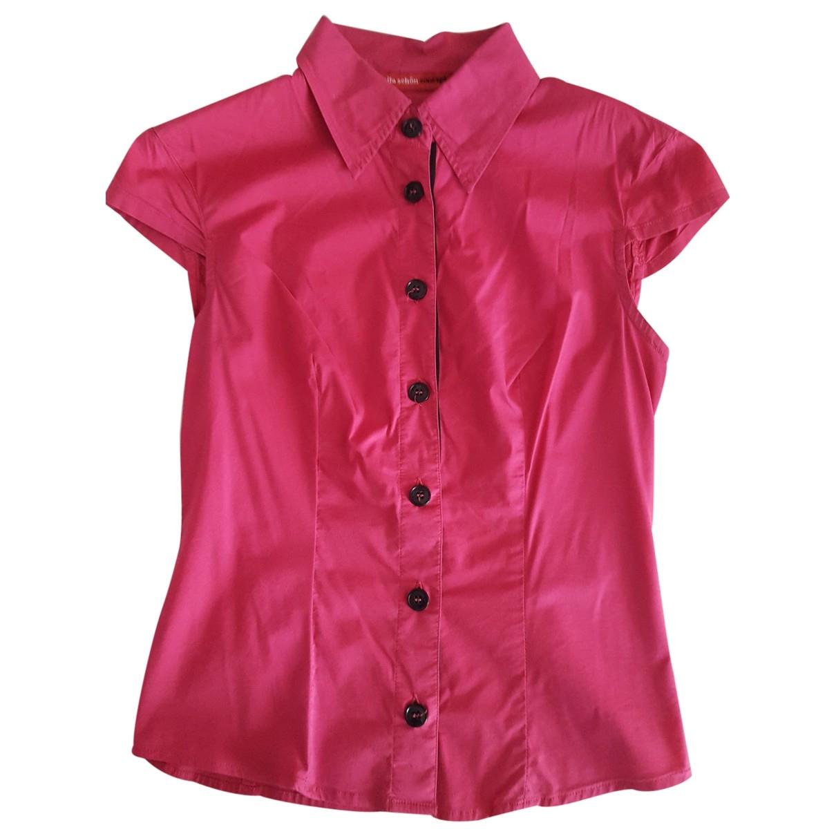 Mila Schon Concept - Top   pour femme en coton - rose