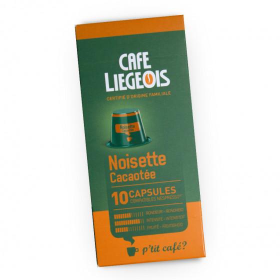 """Kaffeekapseln Cafe Liegeois """"Noisette"""", 10 Stk."""
